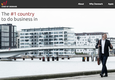 Start-Up Denmark Website