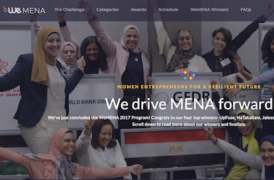 WeMENA by World Bank Website